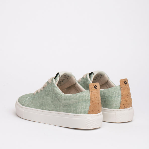 Willow Sustainable Lace Sneaker - Mint