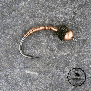 Copper Beadhead Brassie - Barbless