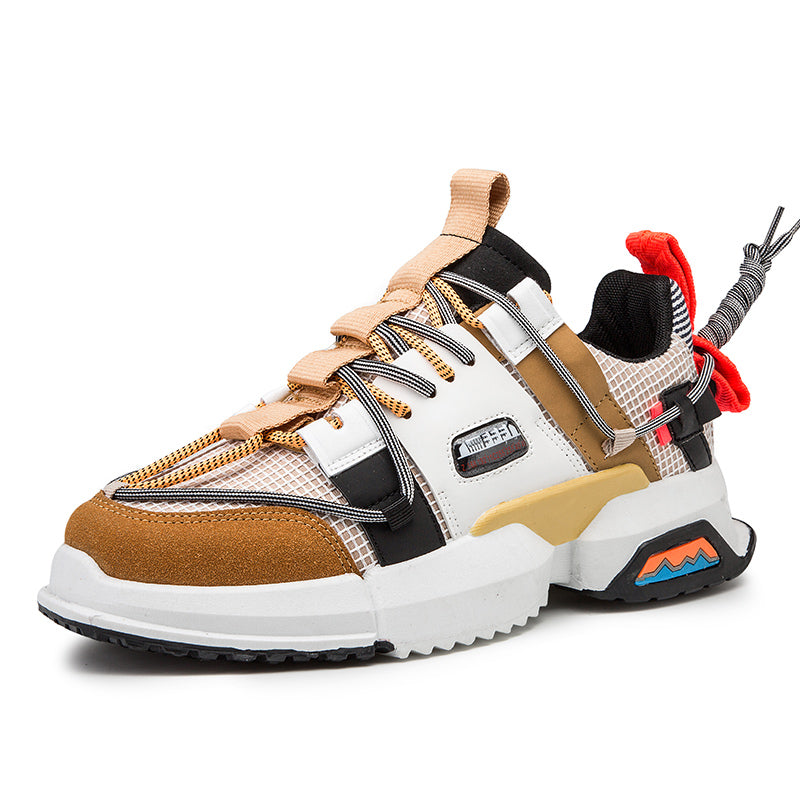 NINJA 'Electric Pulse' X6X Sneakers - Katana Brown