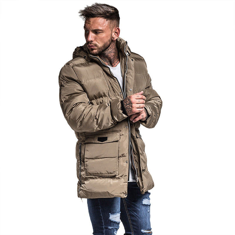Luxury Lightweight Padded Winter Jacket