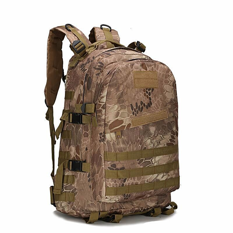 PYTHON Camouflage Waterproof Backpack