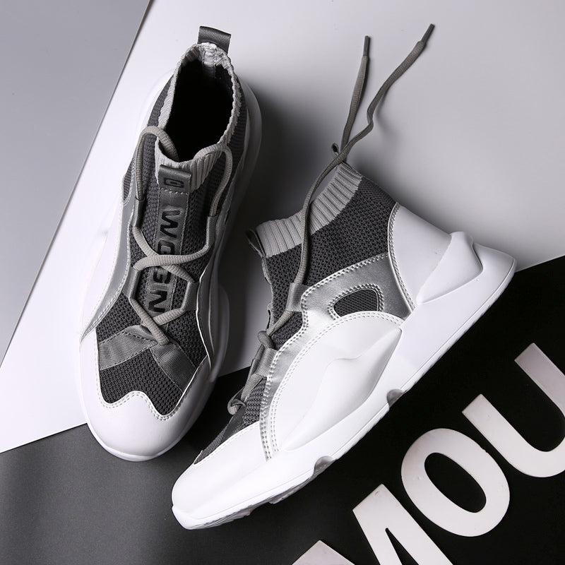 TOXIQUE X 'VIBE' High Top Sneakers