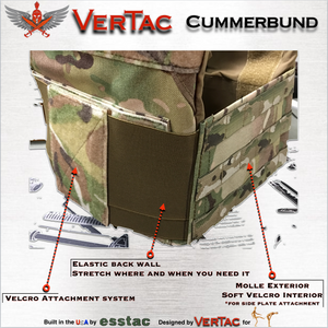 VerTac Cummerbund - VerTac Training and Gear