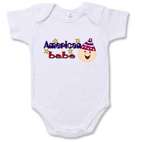 Personalized American Baby Creeper