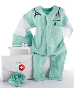 Personalized Baby Doctor MD Set