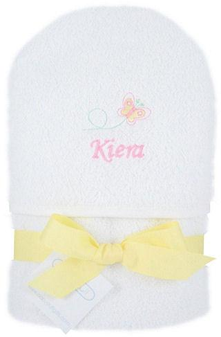 Personalized Baby Butterfly Hooded Towel