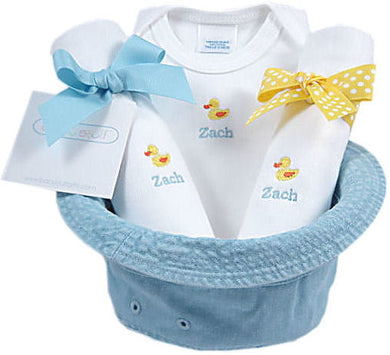 Personalized Ducky Bucket Gift Hat
