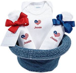 Personalized Petite Patriot Bucket Hat