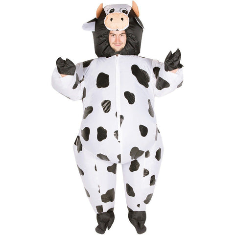 Fancy Dress - Inflatable Cow Costume