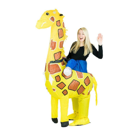 Fancy Dress - Inflatable Giraffe Costume