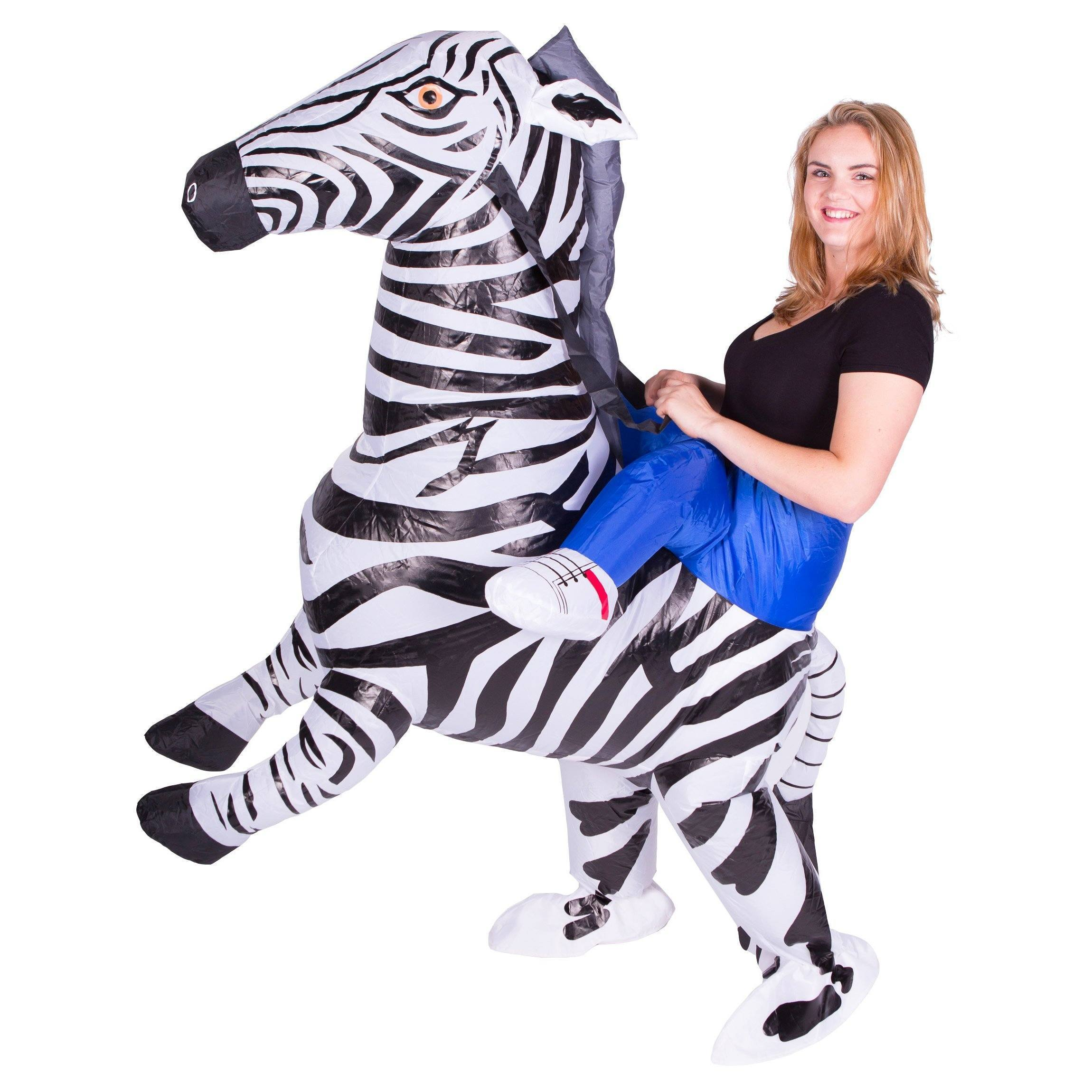 Fancy Dress - Inflatable Zebra Costume