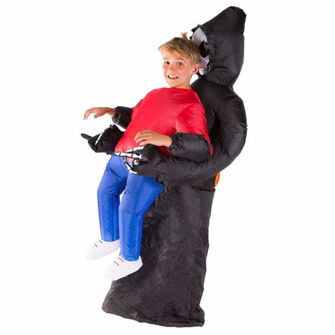 Fancy Dress - Kids Inflatable Grim Reaper Costume