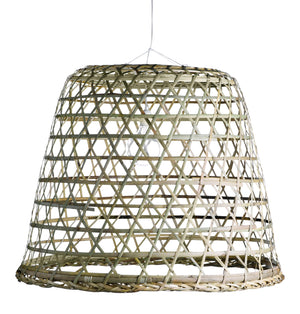 Extra Large Woven Basket Lampshade