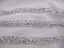 Load image into Gallery viewer, Braided Metallic Trim 15mm