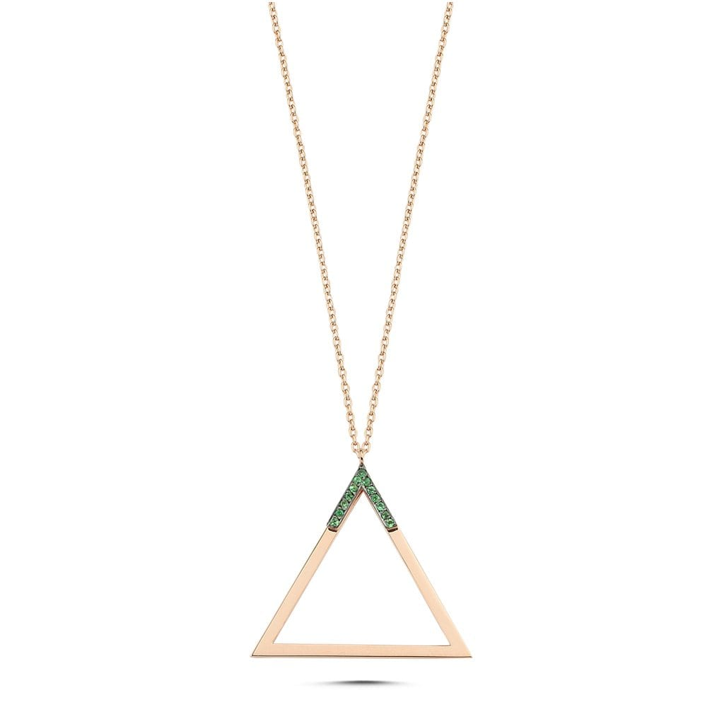 Vincents Fine Jewelry | Own Your Story | Suspended Triangle Pendant