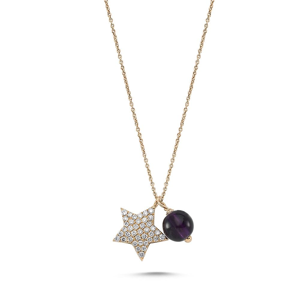 Vincents Fine Jewelry | Own Your Story | Starry Amethyst Necklace