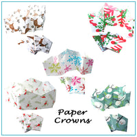 Christmas Cracker Paper Crowns