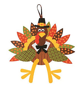 Thanksgiving Paper Turkey Craft Kit