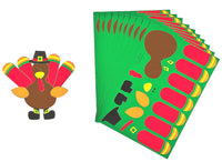 Make a Turkey Sticker Kit