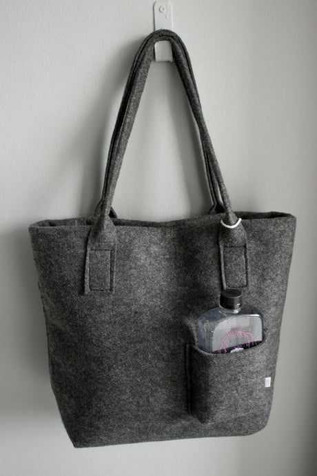 Bag made from 100% recycled plastic bottles