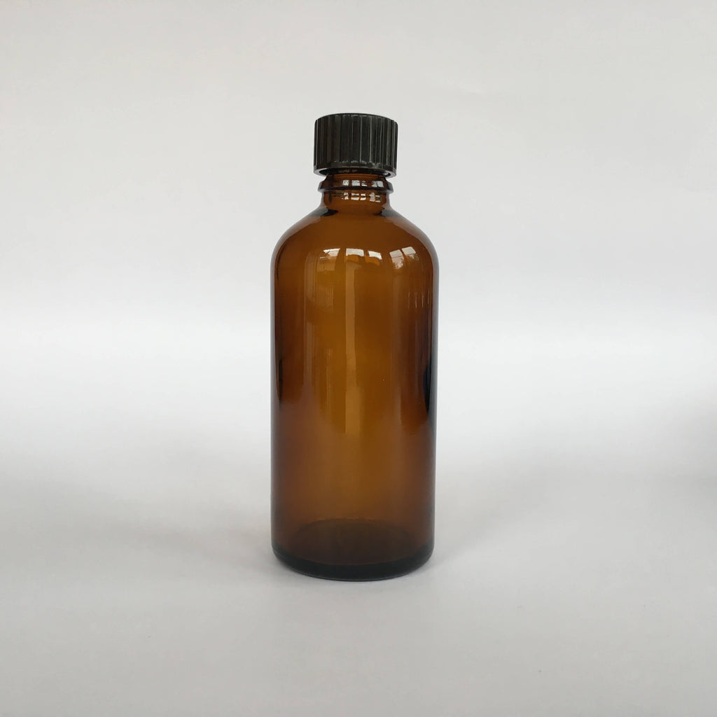 Amber Glass Syrup Bottle 100mL
