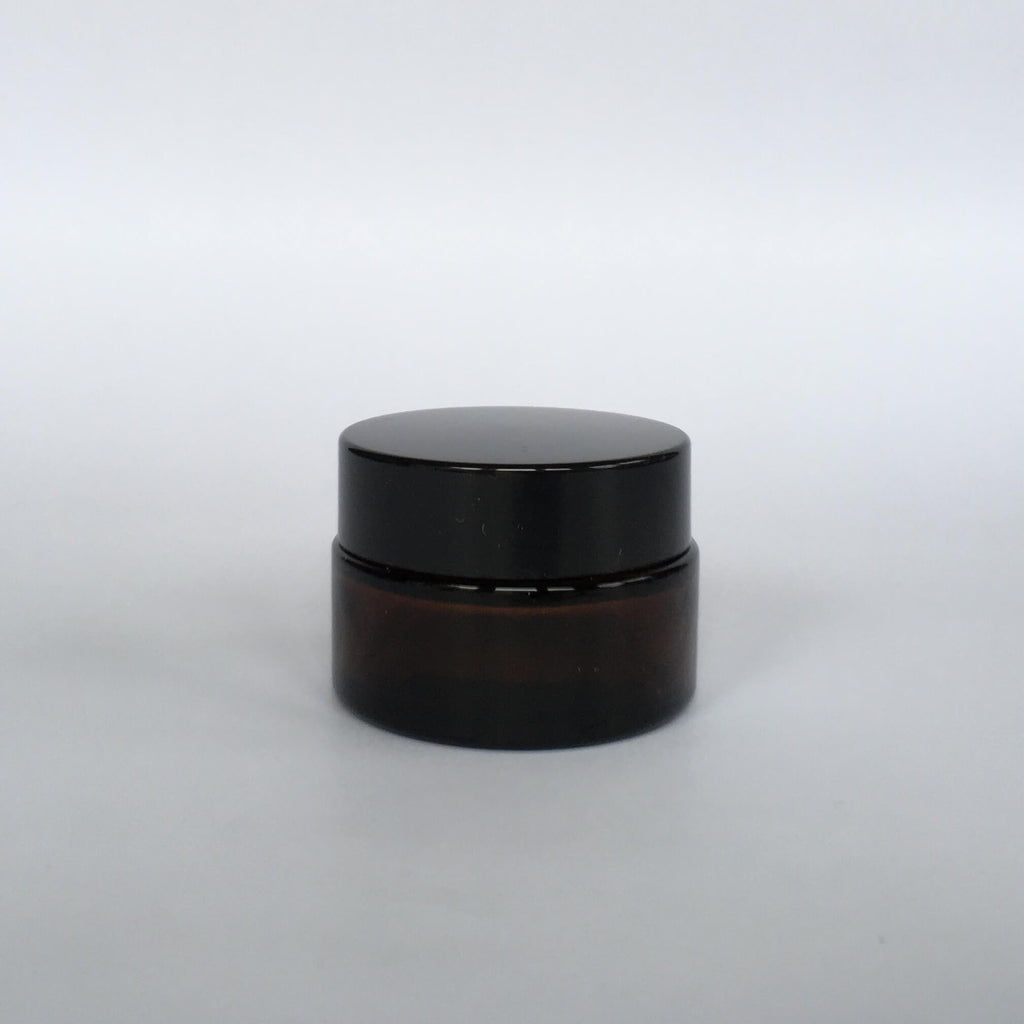 Amber Glass Ointment Jar 20mL