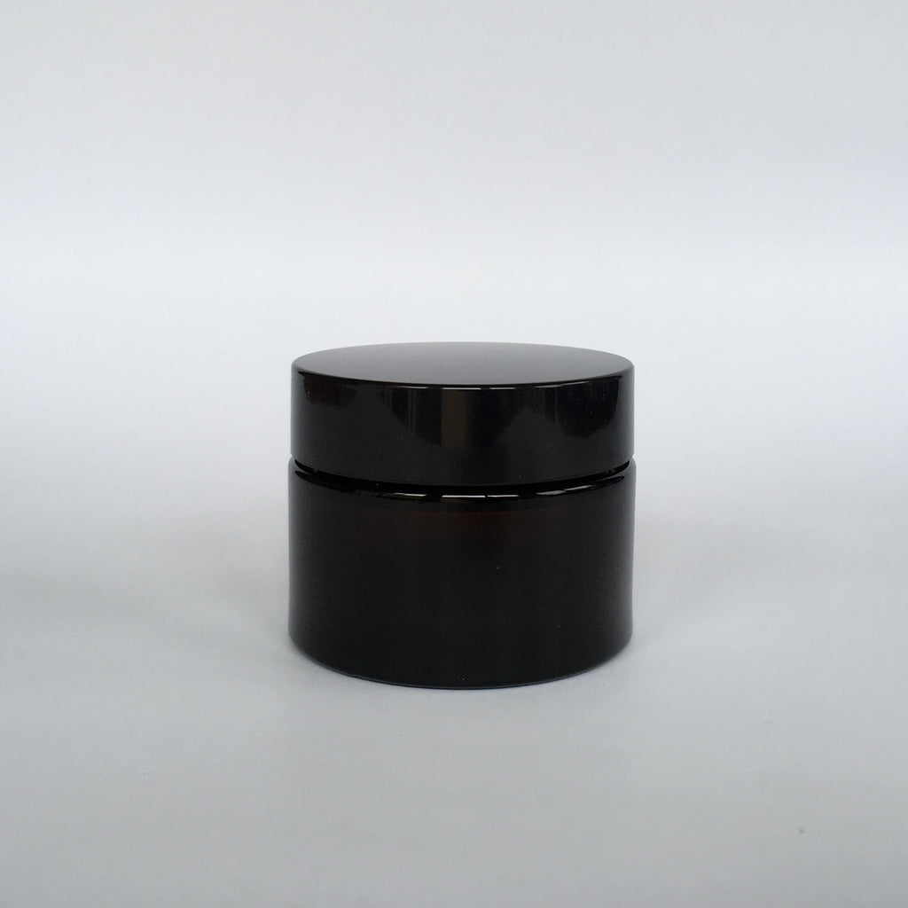 Amber Glass Ointment Jar 50mL