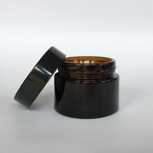 Amber Glass Jar - 50mL