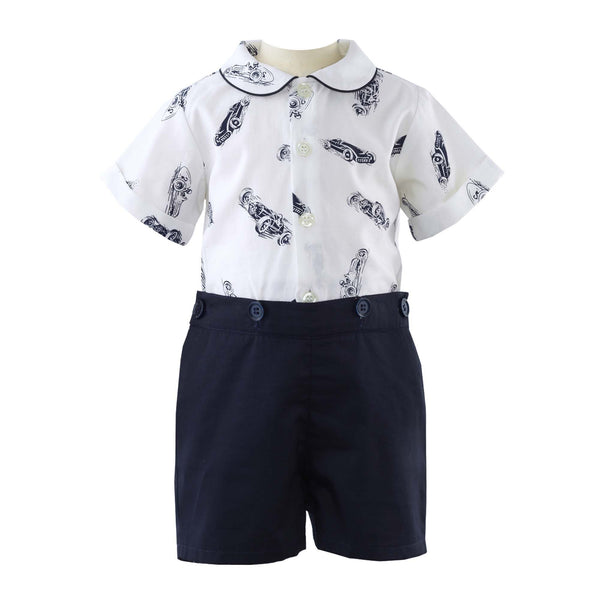 Racing Car Shirt & Short Set