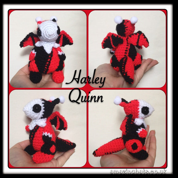 Harley Quinn Dragon