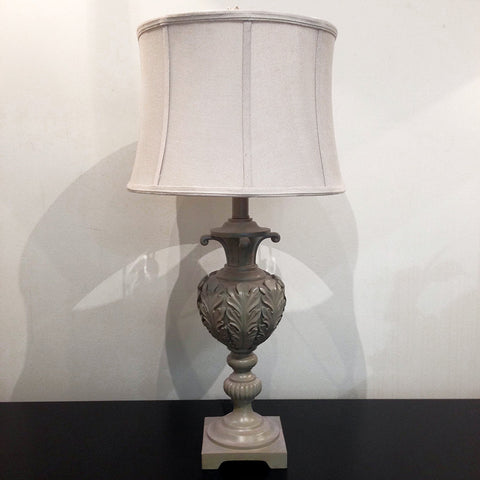 ACANTHUS LAMP - ANTIQUE BROWN - CLOSING DOWN PRICE - WAS $249