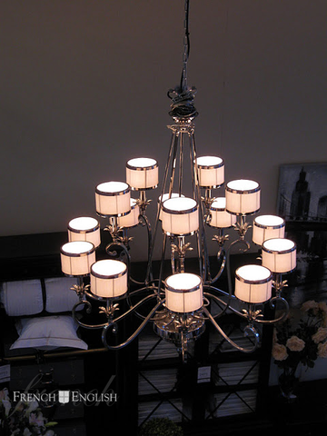 NEW YORK CHANDELIER- 15 LIGHT - CLOSING DOWN PRICE - WAS $2995