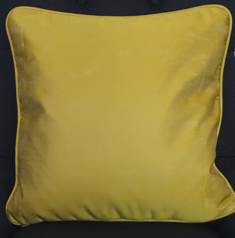 Gold Satin Cushion - CLOSING DOWN PRICE - WAS $89