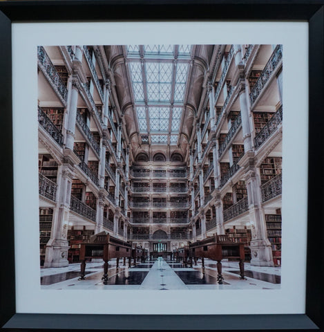 """Library"" Photographic Artwork - CLOSING DOWN PRICE - WAS $119"