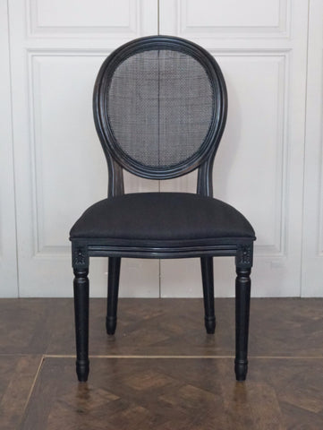 AVIGNON ROUND CANE BACK CHAIR - CLOSING DOWN PRICE - WAS $449
