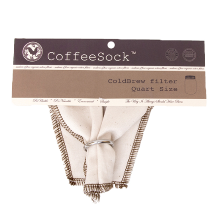 CoffeeSock Coldbrew Filter | Cold Press Elixir Filter - Personal