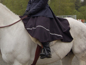 Riding Skirt at English Horse Show