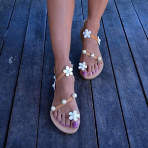 Flower Decoration Casual Sandals