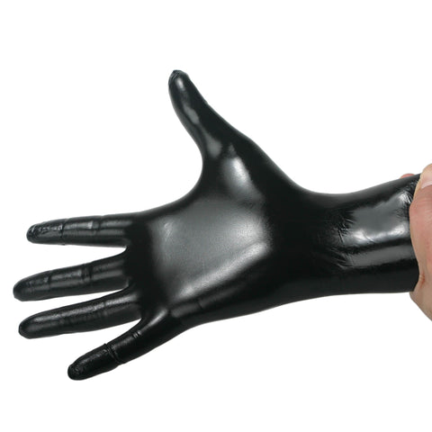 Black Nitrile Examination Gloves