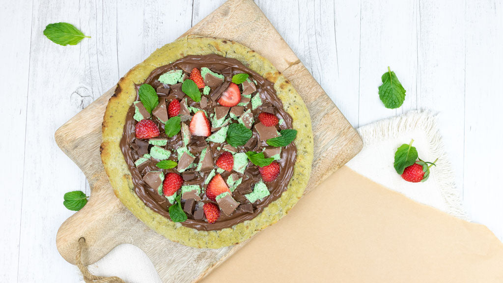 MINT TO BE PIZZA DESSERT