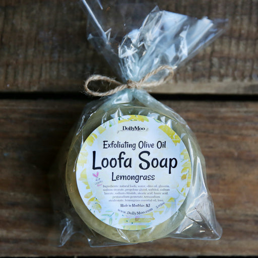 Lemongrass Loofa Soap