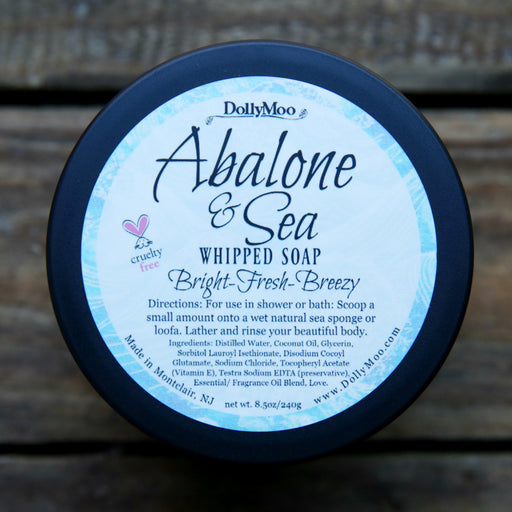 Abalone & Sea Whipped Soap