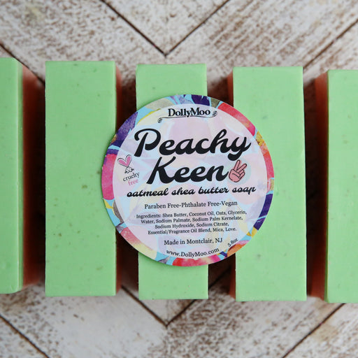 Peachy Keen Shea Butter Soap