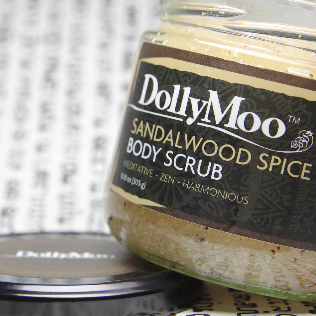Sandalwood Spice Body Scrub 10oz