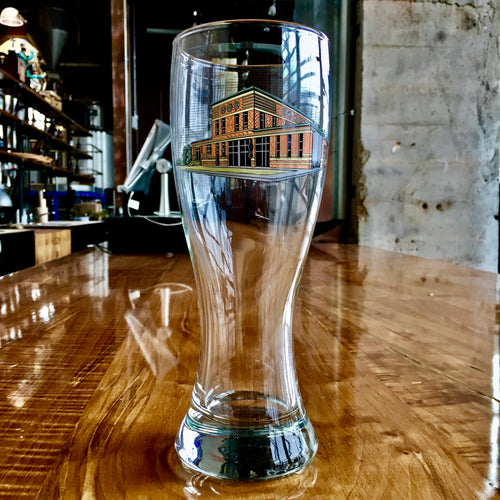 Destructor Pint Glass