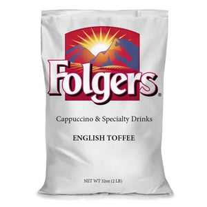 Folgers Cappuccino with Speciality Drinks | English Toffee