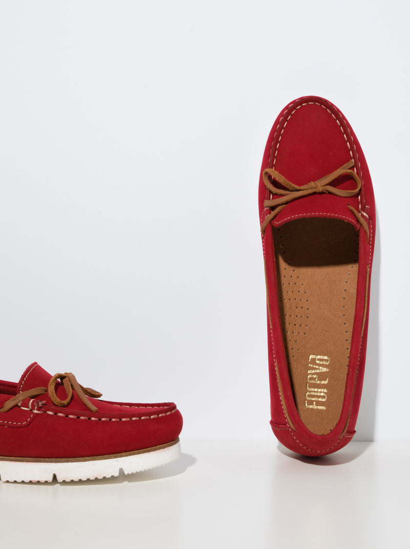 Red Nautical Shoes