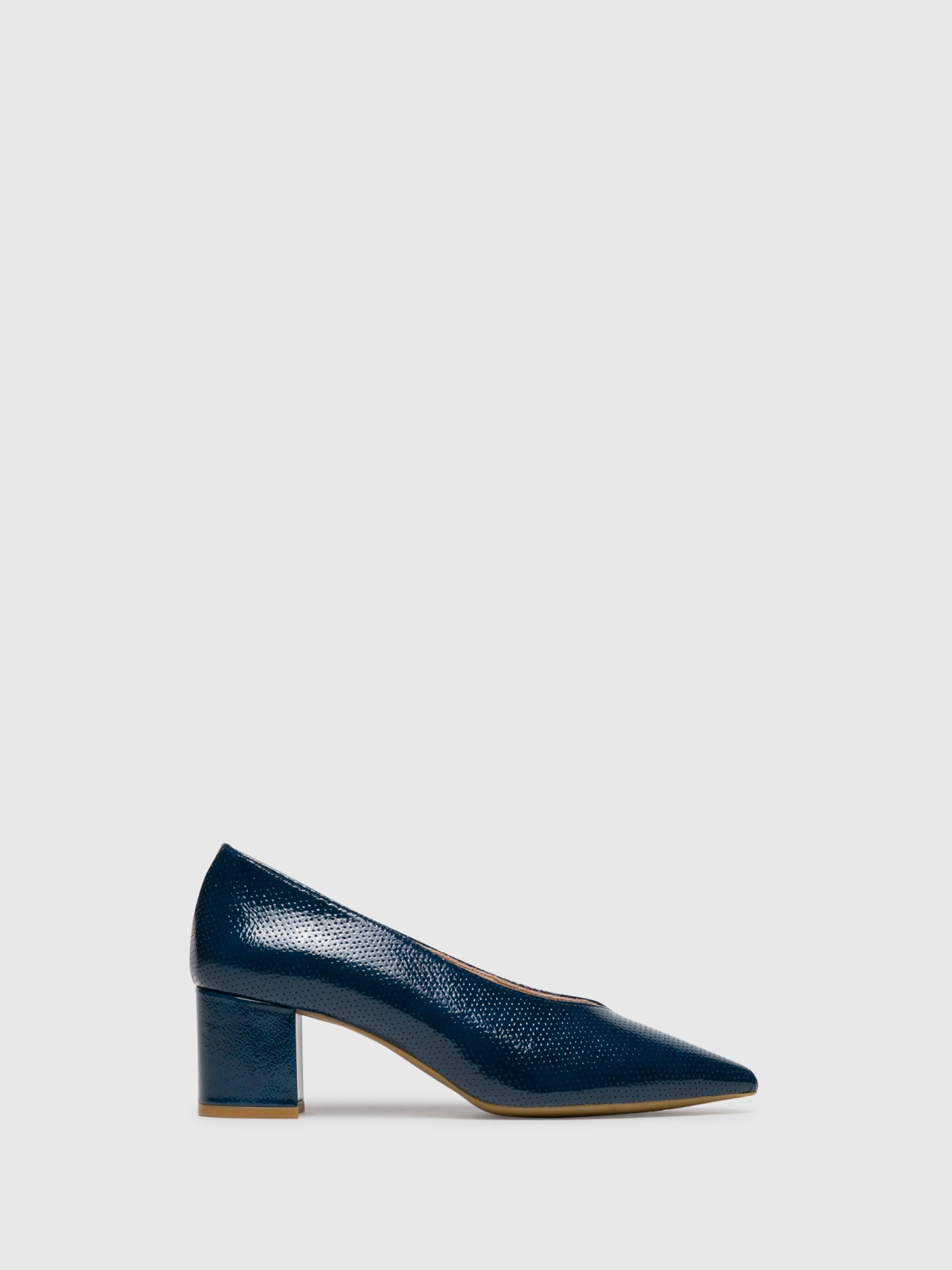 Sofia Costa Blue Pointed Toe Shoes
