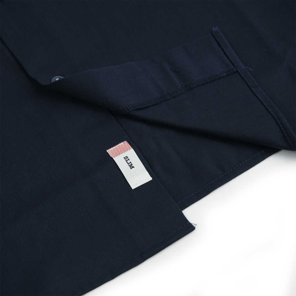 Dickies Minersville Shirt in Dark Navy - Open