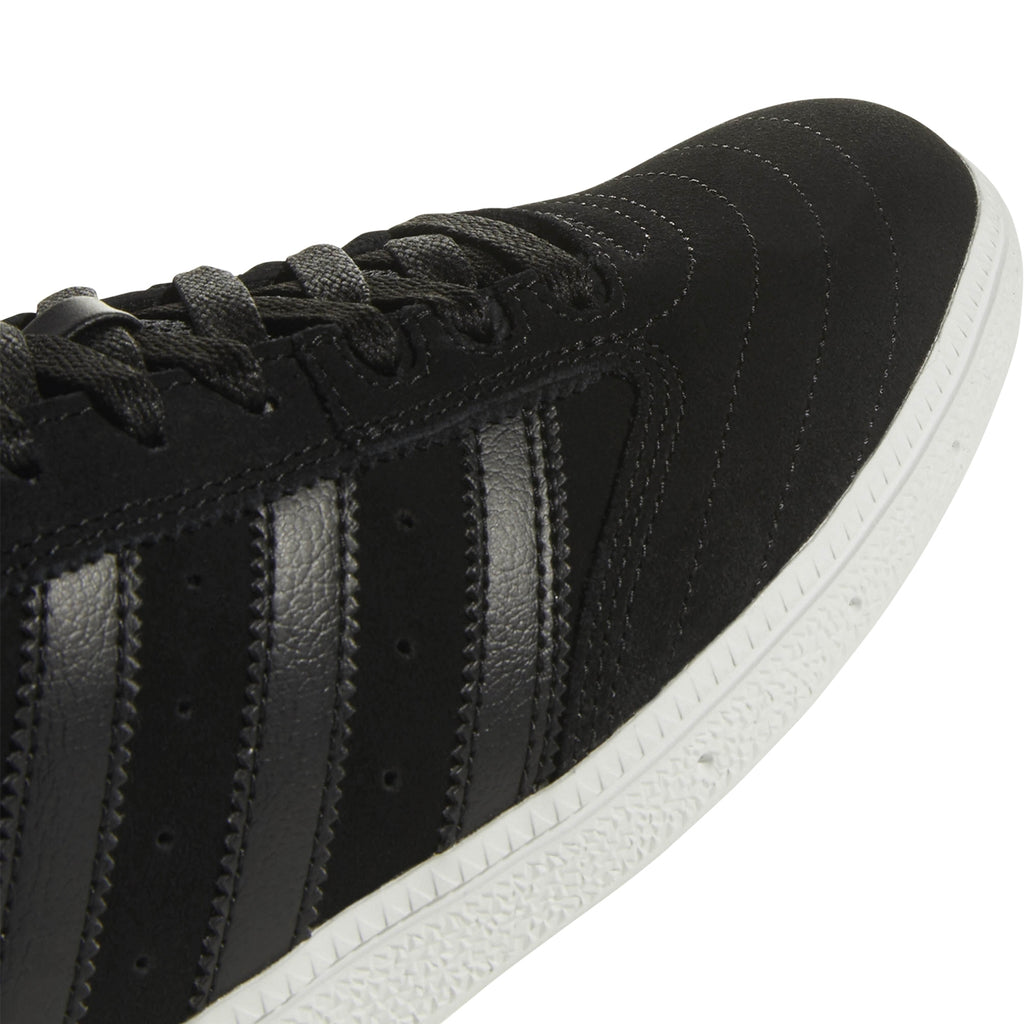 Adidas Busenitz Shoes in Core Black / Core Black / Footwear White - Three Stripes